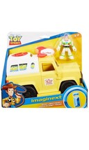 NEW Fisher-Price Imaginext Toy Story 4 Buzz Lightyear and Pizza Planet T... - $24.30