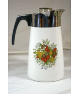 Corning Ware Spice Of Life 1987 10 Cup Stove Top Coffee Pot P-149-8 - $75.99