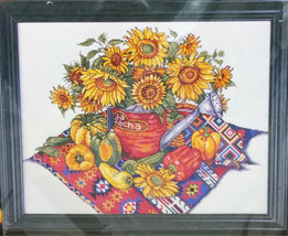 Design Works Southwest Floral Sunflower Counted Cross Stitch Kit 9804  - $18.99