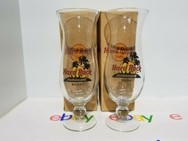 Hard Rock Cafe Glass - HardRock Biloxi  MS HURRICANE X1 RARE NIB - $15.83