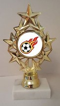 """Soccer Trophy 7"""" Tall As Low As $3.99 Each Free Shipping T04N10 - $7.99+"""