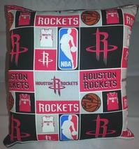 Rockets Pillow Houston Rockets Pillow NBA Basketball Handmade in USA - $9.99