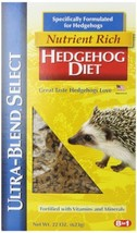 8 In 1 Ultra-Blend Select Hedgehog Diet, 22-Ounce - $11.56