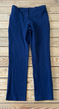 1.state women's clap front chino Dress pants Size 8 Navy - $17.72