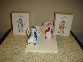 Hallmark 2012 One Cool Girl & Guy Ornaments - $13.99