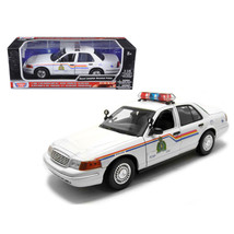 2001 Ford Crown Victoria Royal Canadian Mounted Police Car 1/18 Diecast ... - $53.11