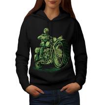 Biker Bike Death Skull Sweatshirt Hoody  Women Hoodie - $21.99+