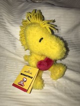 Hallmark WOODSTOCK the Bird with Heart 7.5 inch MWMT's Peanuts Snoopy Plush - $16.82