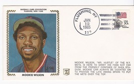 MOOKIE WILSON AT FLUSHING BASEBALL CARD CONVENTION JAN 12 1985 NY METS  ... - $2.68