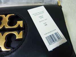 NWT Tory Burch Black Leather Miller Metal Cross-Body Bag/Mini Shoulder Bag $398 image 12