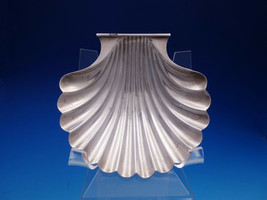 Currier & Roby Sterling Silver Oyster Shell Shaped Candy Dish #85 (#4589) - $159.00