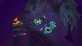 UV Tattoos: Daytime and Blacklight Colored Tattoos | Pattern Design 3 | ... - $19.99
