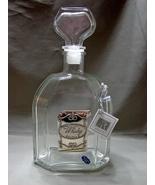 Cristalleria Acampora,Crystal  Italian Whiskey Decanter ~Studio S - $9.99