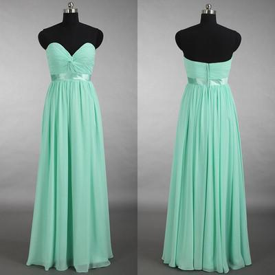 long bridesmaid dress,mint bridesmaid dress,sweetheart bridesmaid dresses
