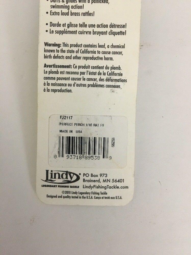 Lindy FJ2117 Rattl/'n Flyer Spoon 1//16oz Perfect Perch