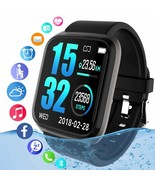 Smartwatch Sport Fitness Tracker Watch Compatible with Android iOS Phone - $32.50