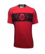 Ohio State Buckeyes Nike Basketball Courtside Team Issue XL Tri-Blend T-... - $33.25