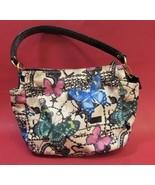 Coach Small Butterfly Shoulder Handbag / Purse-42472 - $125.00