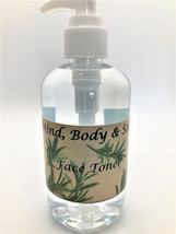 Face Toner, All Natural 8 Ounce Pump Bottle - $14.00