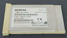 SIEMENS 6ES5-374-2FK21 SIMATIC S5 MEMORY CARD FLASH 1 MBYTE/16 BIT, 6ES53742FK21