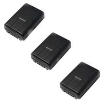 3X VW-VBY100 VBY100E Batteries for Panasonic HC-V110, HC-V130, HC-V160, HC-V201, - $35.90