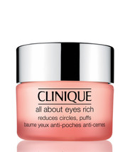 CLINIQUE All About Eyes RICH Gel Cream Rids Dark Circles Brightens Puffs... - $34.02