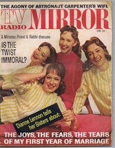 ORIGINAL Vintage June 1962 TV Radio Mirror Magazine Lennon Sisters The T... - $18.51