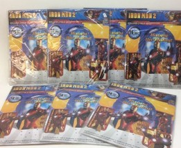 Lot Of 7 Iron Man Mylar Balloon Table Decoration Kit Marvel Birthday Party - $52.56 CAD