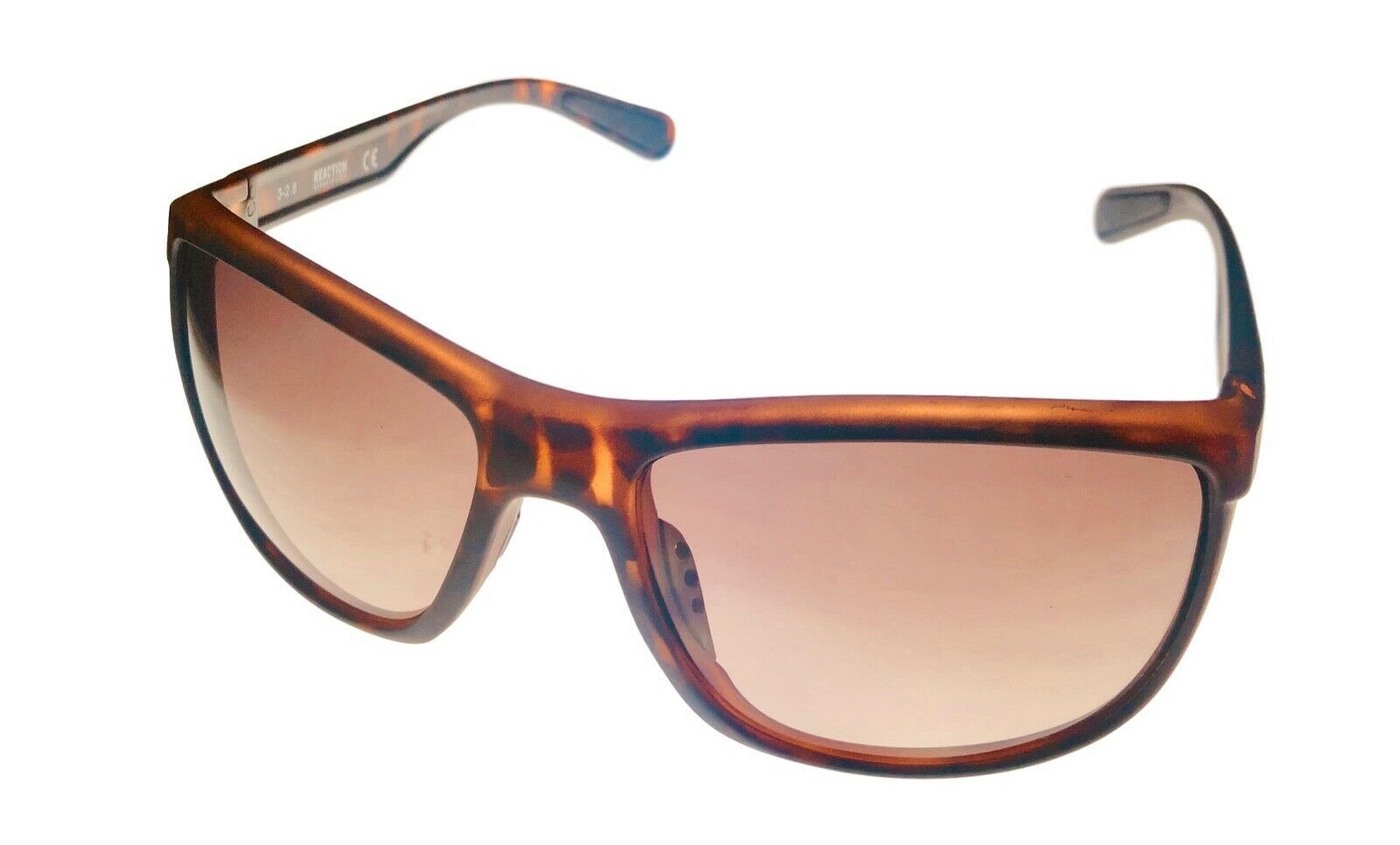 Primary image for Kenneth Cole Reaction Mens Sunglass Matte Tortoise Wrap, Gradient Len KC1368 52