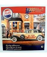 Michael Young Pepsi Cola Puzzle Sunday Afternoon Antique Car Karmin 1000... - $14.80