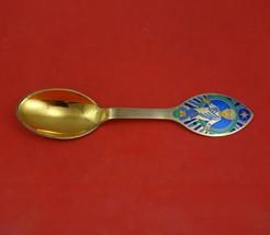 Christmas Spoon by A. Michelsen Danish Sterling Silver Teaspoon 1984 Her... - $107.91