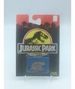 Jurassic Park Triceratops Enamel Pin 1992 Ace Novelty Dinosaur  - $34.64