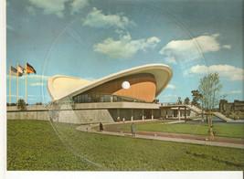 Old Musical 45rpm Record Postcard Schallbildkarte BERLIN Kongresshalle E... - £8.02 GBP