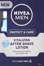 Nivea Men Vitalizing After Shave Lotion - 100 ml -FREE SHIP - $11.29