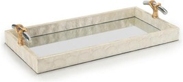 Tray JOHN-RICHARD Transitional White Gold Polished Nickel - $449.00