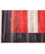 9'x12' Zollanvari Multi Brown Gabbeh High Quality Handknotted 100% Woole... - $1,523.61