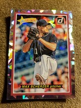 "2018 Donruss ""ALL-STARS"" Max Scherzer #AS10 Nationals Baseball Card JK15. - $4.70"