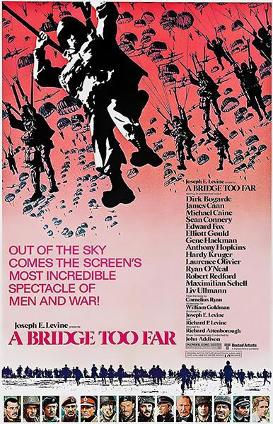 Primary image for A Bridge Too Far - 1977 - Movie Poster