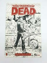 Walking Dead #1 Artist's Proof Edition Large 11x17 Comic Book - $38.69