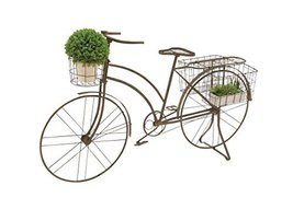 Deco 79 Metal Bicycle Planter, 63 by 39-Inch - $193.24