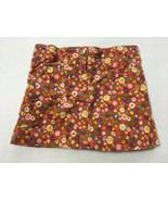 Gymboree Mix N Match 4 Orange Corduroy Floral Skirt Skort Girls Autumn - $7.99