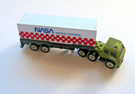 Funrise Micro Semi Tractor Trailer Box Truck NASA Mission Control, Vinta... - $14.84