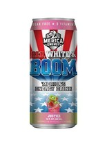 'Merica Energy Drinks 16 ounce cans of Red White & Boom! (Justice, 6) - $29.69