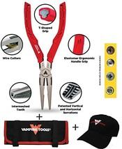 """VamPLIERS 7.5"""" Long Nose Specialty Screw Extraction Pliers + Tool Pouch ... - $79.95"""