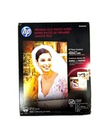 "HP Premium Plus Photo Paper 60 Sheets Glossy Glace 5"" x 7"" Model CR669A - $16.82"