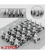 21pcs/set Gondor Heavy Swordsman Army Soldiers The Lord of the Rings Min... - $36.99