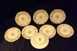Noritake China (8 – Dessert Plates) Charmaine 5506 AA20-2360C Vintage image 5