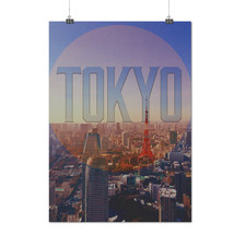 Tokyo City Japan Fashion Tokyo Urban Matte/Glossy Poster A0 A1 A2 A3 A4 ... - $7.99+
