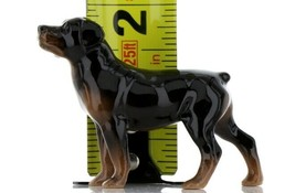 Hagen Renaker Dog Rottweiler Ceramic Figurine image 2
