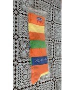 Brand New Republican GOP Mens Crew Socks 10 to 13 Rainbow Colors For Dog... - $10.49